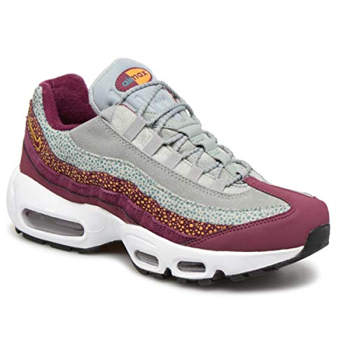 Nike Women's Air Max 95 PRM BordeauxYellow OchreGeode Teal