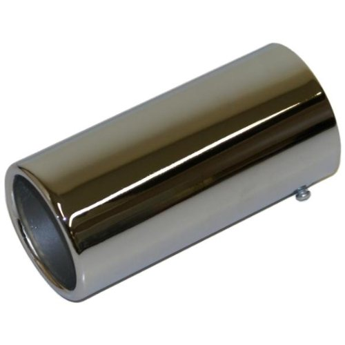 Replacement Car Exhaust Chrome Tail Pipe 48Mm-75Mm AutoPower