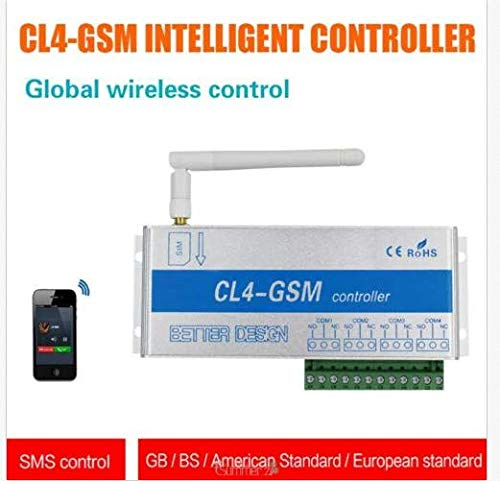 EU Plug Control Remoto Inal/ámbrico GSM SMS Llamada Inteligente Sistema de Seguridad Para El Hogar Interruptor Electrodom/ésticos Electrodom/ésticos Control Remoto CL1-GSM de Mano Cabezal