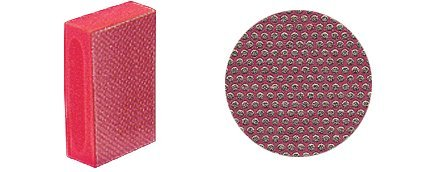 3M 220 Grit Flexible Diamond Hand Pad (220 Grit Diamond)