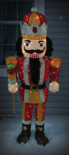 Outdoor Lighted Nutcracker Soldier - 9