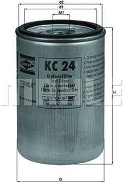 Mahle Knecht KC 236 Kraftstofffilter
