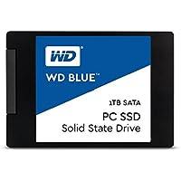 """Western Digital WD Blue 1TB Internal SSD - SATA III 6 Gb/s, 2.5""""/7mm - WDS100T1B0A"""