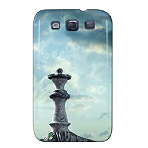 Giant Chess Pieces Giant Chess Pieces Silver Case Cover For Sumsang Galaxy S3