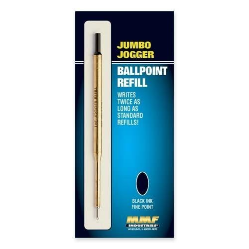 MMF Industries Products - MMF Industries - Refill Jumbo Jogger Pens, Medium, Black Ink - Sold As 1 Each - Smooth, skip-free ballpoint tip. - Choice of ink colors. - Large ink supply. by MMF Industries