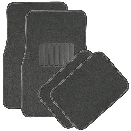 Motorup America Auto Floor Mat Set - Fits Select Vehicles Car Truck Van SUV - ()