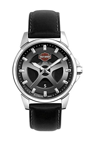 Harley-Davidson Men's Bulova Watch. 76B158