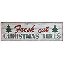 "Fresh Cut Christmas Tree Sign, Christmas Tree Sign, 38"""