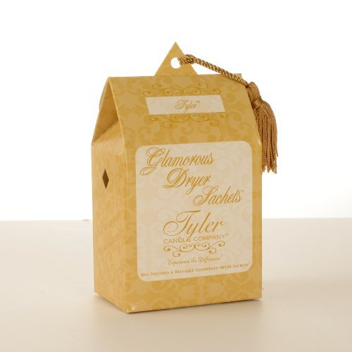 1 X TYLER FRAGRANCE Tyler Glamorous Sachets - Dryer Sheets by Tyler - The Tyler Mall