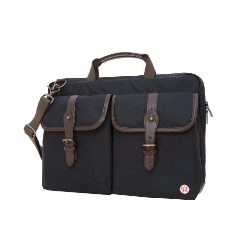 Field Inch Laptop Brown Token Waxed Dark Size Bags Knickerbocker Tan Black 15 Dark Brown Bag One 1w0Rqw