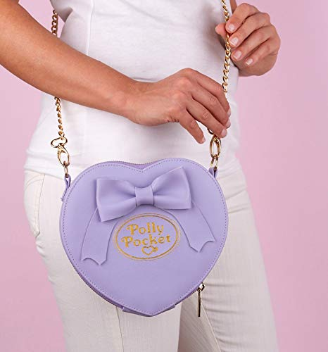 Bow Pocket Heart Polly Body Cross Bag and Purple wIqO5E