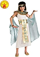 Rubie's Girls' Cleopatra Child Costume, White, Large