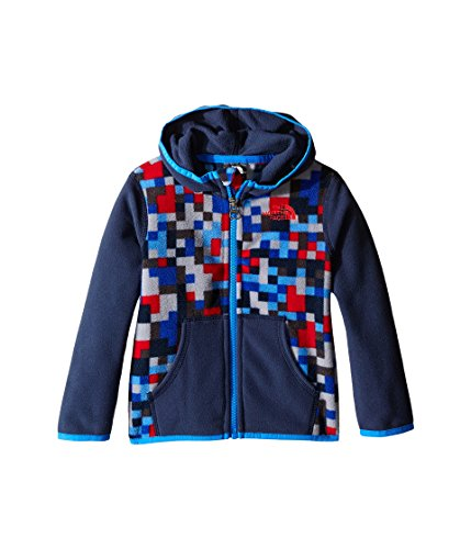 The North Face Kids Baby Girl's Glacier Full Zip Hoodie (Infant) Jake Blue (Prior Season) 3-6 Months