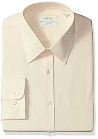 Enro men 39 s big and tall classic fit solid for Tall collar dress shirts