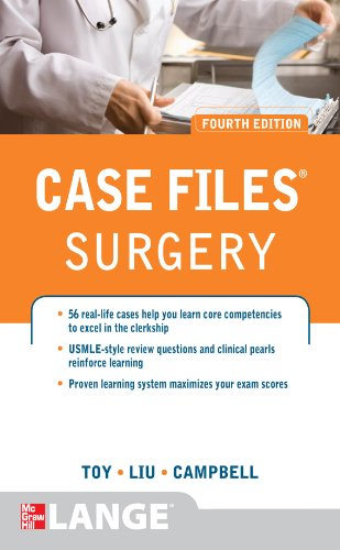 Case Files Surgery (4th 2012) [Toy, Liu & Campbell]