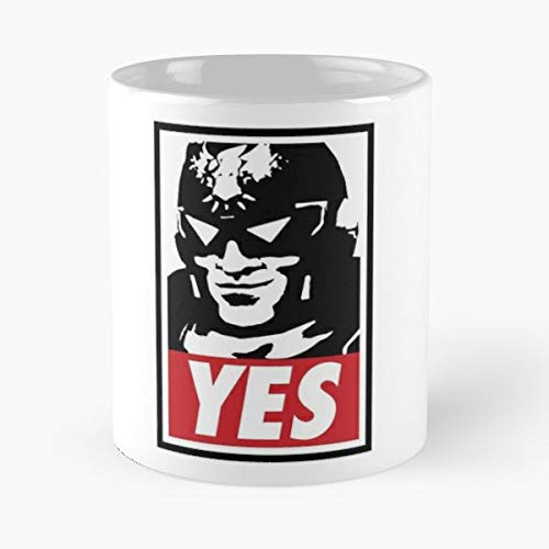 Super Smash Bros Captain Falcon Punch Fight - Morning Coffee Mug Ceramic Novelty Holiday