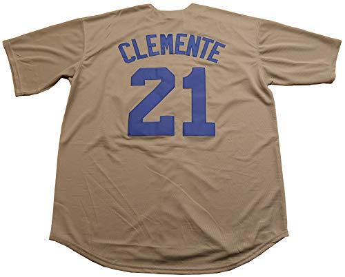 Roberto Clemente #21 Puerto Rico World Classic Baseball Jersey Men ...