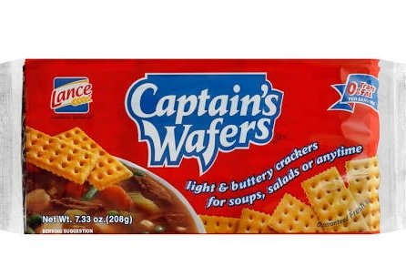 Captain's Wafers Light And Buttery Crackers, 7.333 oz
