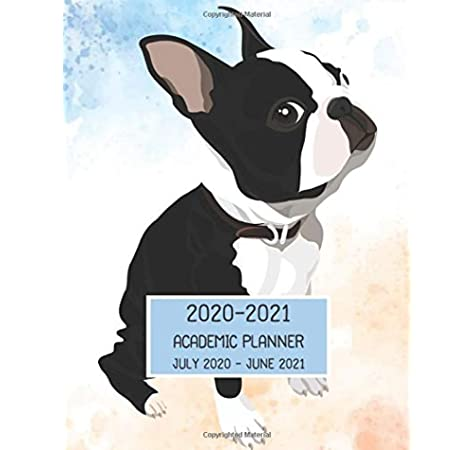 Academic Planner 2020 2021 July 2020   June 2021: Boston Terrier