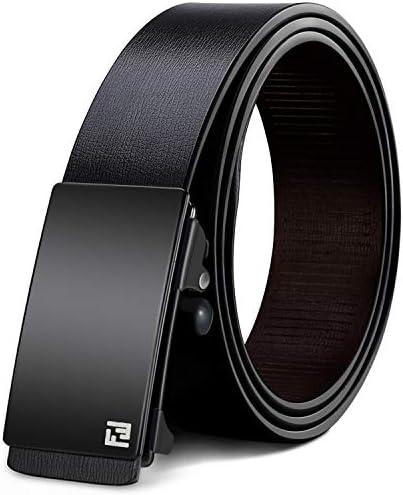[해외]WONDAY 남성용 진짜 가죽 벨트 - 남성용 드레스 벨트 - 남성용 래칫 벨트 패션 디자이너 및 자동 버클 캐주얼 벨트 / WONDAY Men`s Real Leather Belt-Mens Dress Belt-Mens Ratchet Belt, Casual Belt with Fashion Desigeners and Automatic Buckl...