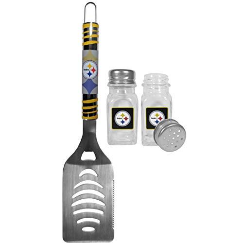 NFL Pittsburgh Steelers Tailgater Spatula & Salt & Pepper Shaker Set