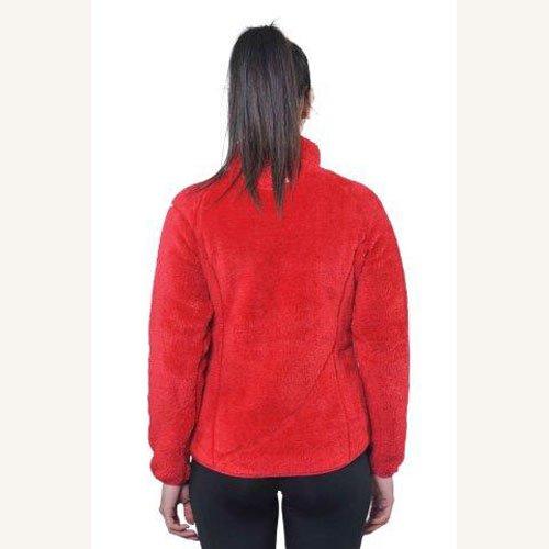Peak Mountain - chaqueta de lana mujer ARIANE rojo