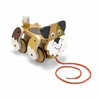 Melissa & Doug Playful Puppy Pull Toy: Melissa & Doug Llc: Toys & Games