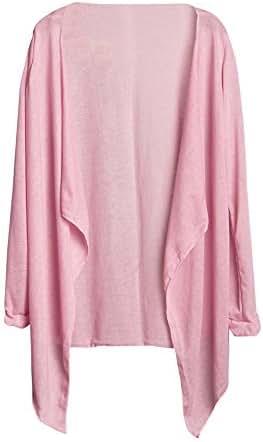 Summer Shirts for Women Long Thin Cardigan Sun Protection Clothing Tops Fashion Casual Slouchy Loose Tunic