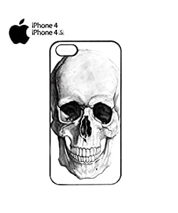 Lmf DIY phone caseSkull Skeleton Fashion Mobile Cell Phone Case Cover iPhone 4&4s WhiteLmf DIY phone case