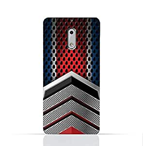 Nokia 6 TPU Silicone Case With Geometric Mesh Pattern Design