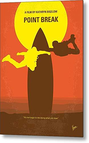 KPSheng No455 My Point Break Minimal Movie Poster Metal Sign 12x8 Tin Signs