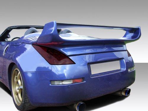 3 Piece Rear Spoiler Wing (2003-2008 Nissan 350Z Convertible Duraflex Vader 3 Rear Wing Trunk Lid Spoiler - 1 Piece)