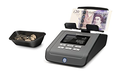 Safescan 6165 money counting scale - note and coin counter