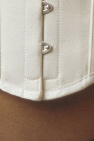 Vollers Ivory Satin Waspie V1915
