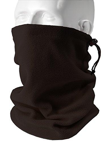 H2H SPORT Mens Winter Velboa Faux Fur Scarf Neck-Warmer
