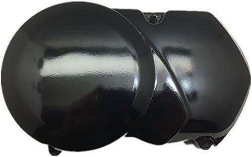 Pitbike Engine Sprocket Stator Side Cover Casing Black 90cc 125cc 140cc Dirtbike