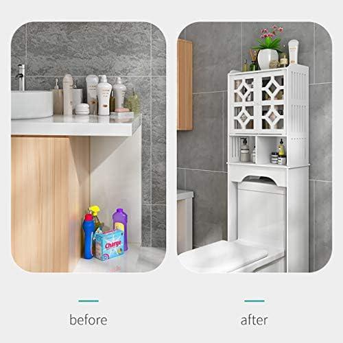 FSS Toilet Shelf Bathroom Shelf Space Saving Furniture Stand Organiser  Toilet Frame Non Perforated: Amazon.de: Küche & Haushalt