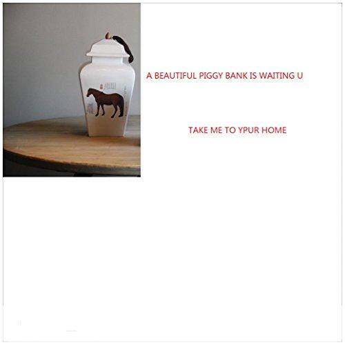 Ceramic piggy bank/classical picture piggy bank-A 24x24x50.6cm(9x9x20inch) by BABAPIGGYBANK