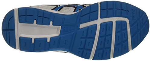 Asics Gel-galaxy 8 Gs - zapatos de entrenamiento de carrera en asfalto Unisex Niños Multicolore (White/Methyl Blue/Black)