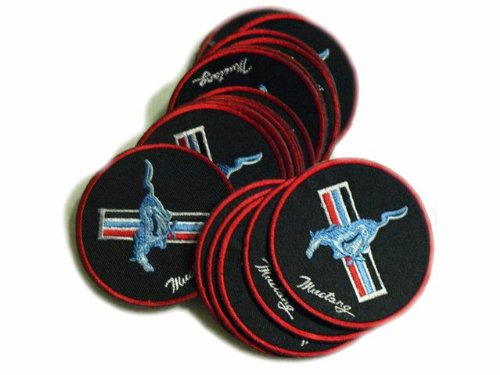 ford-mustang-patches-logo-power-car-limited-5pcs-embroidered-patch-size-3-inches