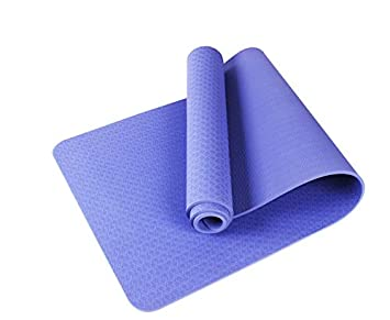YOOMAT 8MM Thick TPE Comfort Foam Yoga Mat for Exercise ...