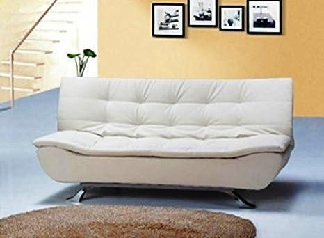 Frizzo Sofá Cama 192 x 87 cm sintética 3 plazas reclinable ...