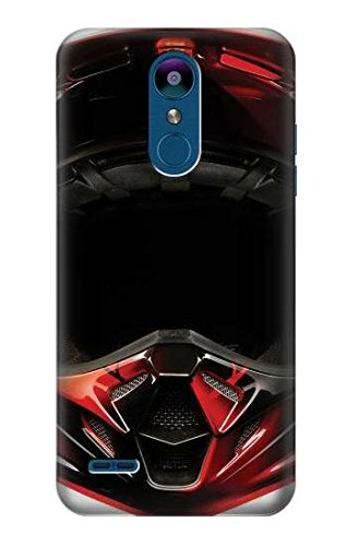 met Case Cover For LG K8 (2018), LG Aristo 2, LG Tribute Dynasty, LG Zone 4, LG Fortune 2, LG K8+ (Fortune Motorcycle Helmet)