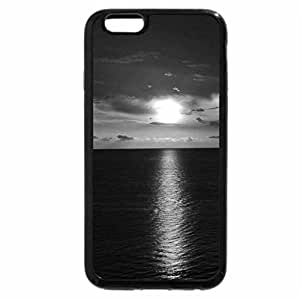 iPhone 6S Case, iPhone 6 Case (Black & White) - Gulf Sunset