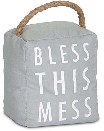 Pavilion Gift Company 72194 Bless This Mess Door...