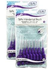 TePe 1.1 mm Size 6 Original Interdental Brush - Pack of 2, Total 16