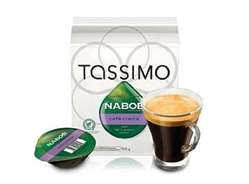 Amazon.com: Tassimo nabob Café Crema – 14 Cápsulas de café ...