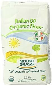Amazon.com : Molino Grassi Usda Organic Italian Soft Wheat