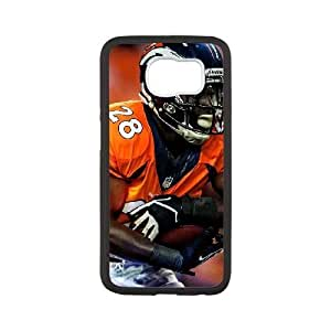 Samsung Galaxy s6 Black Cell Phone Case Denver Broncos NFL Cell Phone Case For Men NLYSJHA0009 by kobestar