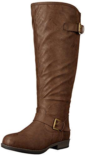 Brinley Co Women's Durango-xwc Riding Boot Brown Extra Wide Calf sZQORhfahq